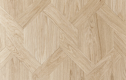 avery unfinished oak Geometric wood flooring from Ted Aodd